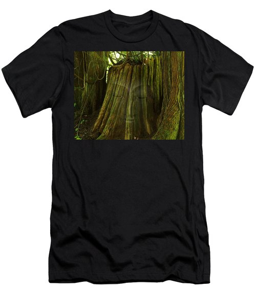 Nature Buddha Men's T-Shirt (Athletic Fit)