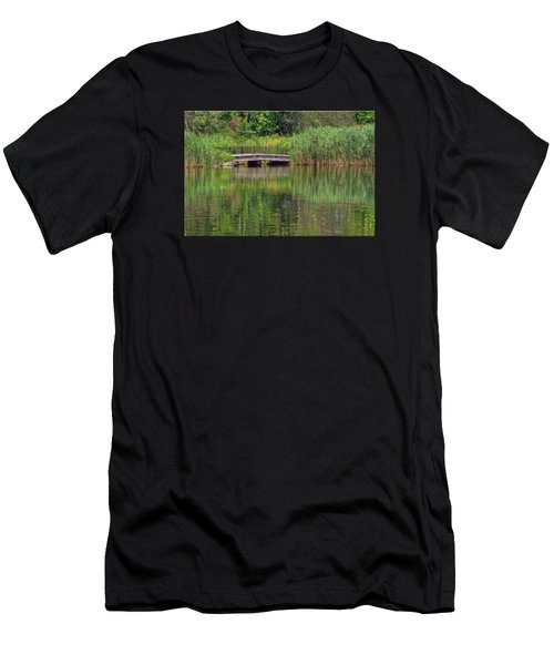 Nature In Green Men's T-Shirt (Athletic Fit)