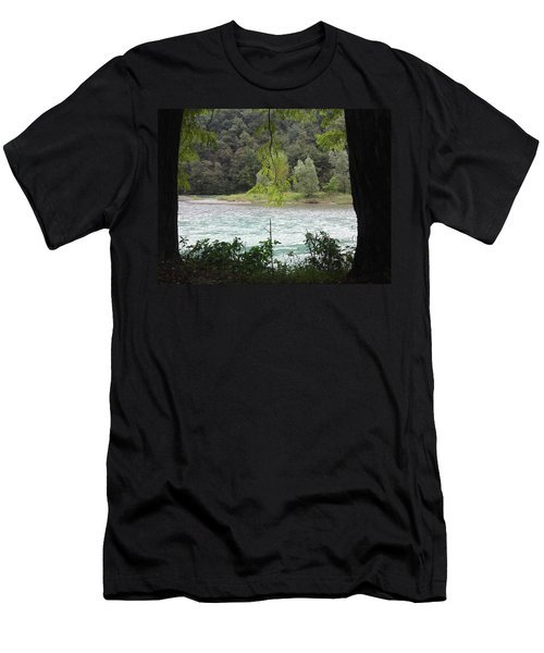 Nature On Stage Men's T-Shirt (Athletic Fit)