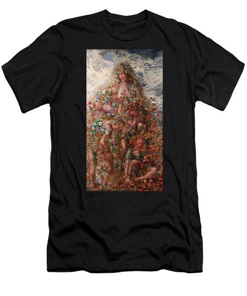 Nature Or Abundance Men's T-Shirt (Athletic Fit)