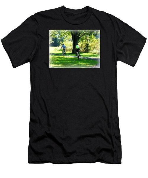 Nature Ride Men's T-Shirt (Athletic Fit)