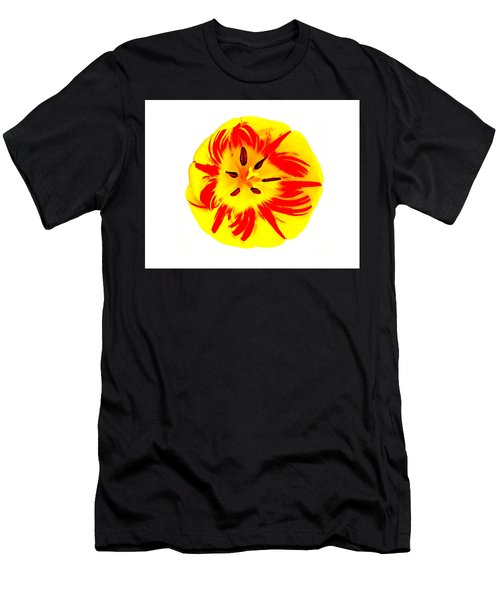Men's T-Shirt (Athletic Fit) featuring the photograph Nature The Abstract Painter by Roger Bester