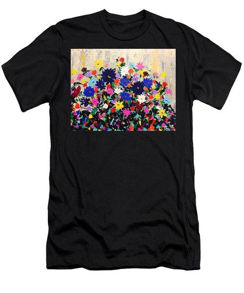 Natures Bouquet  Men's T-Shirt (Athletic Fit)