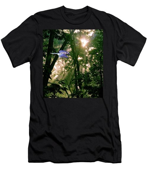 Men's T-Shirt (Slim Fit) featuring the photograph Nature's Cathedral by Marie Hicks