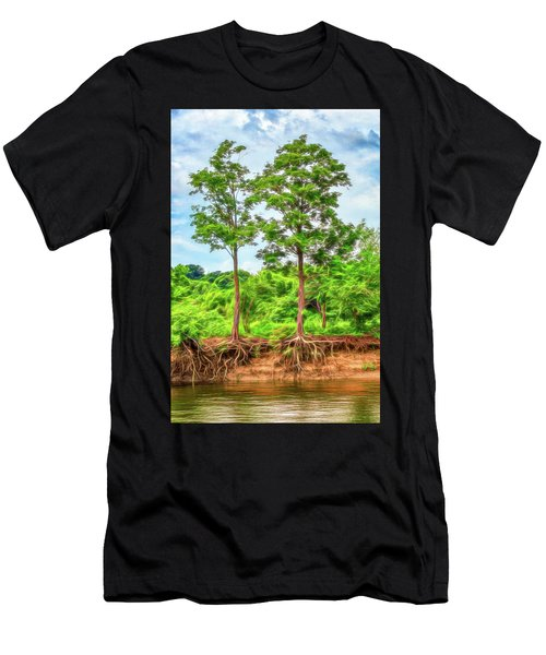 Nature's Electricity Men's T-Shirt (Athletic Fit)