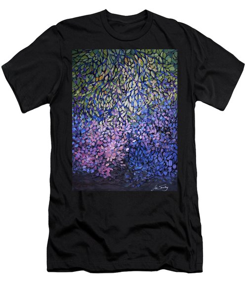 Natures Stain Glass Symphony Men's T-Shirt (Athletic Fit)