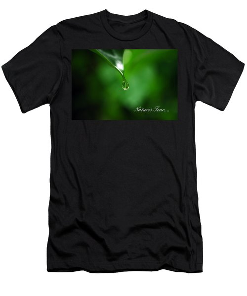 Natures Tear Men's T-Shirt (Slim Fit) by Lori Tambakis