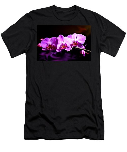 Men's T-Shirt (Athletic Fit) featuring the photograph Nature's Tiara by Hanne Lore Koehler