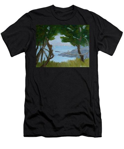 Nature's View Men's T-Shirt (Athletic Fit)