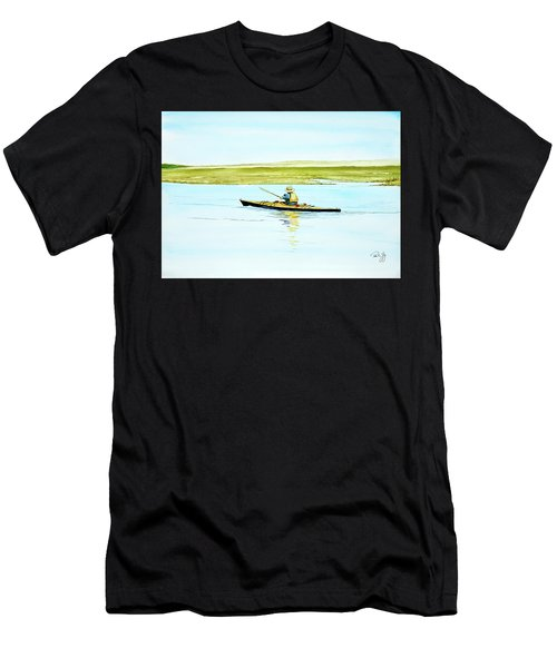 Nauset Kayaker Men's T-Shirt (Athletic Fit)