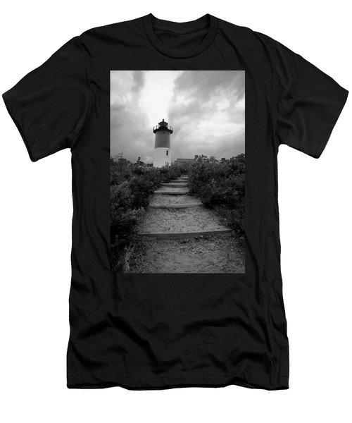 Nauset Light Men's T-Shirt (Slim Fit) by Michael Friedman