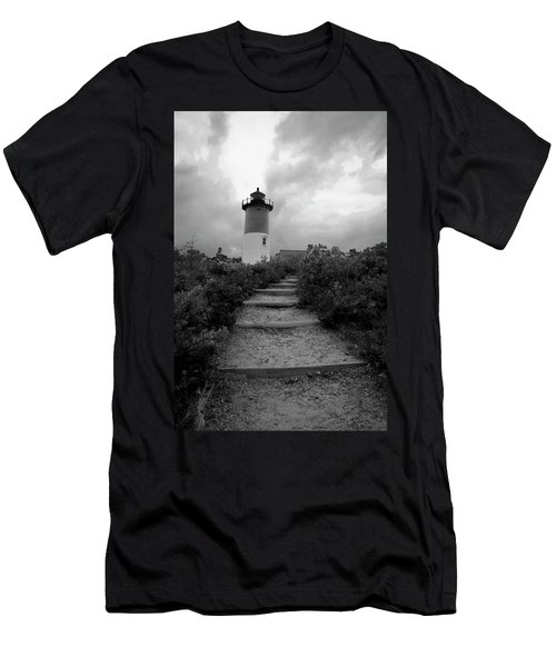 Nauset Light Men's T-Shirt (Athletic Fit)