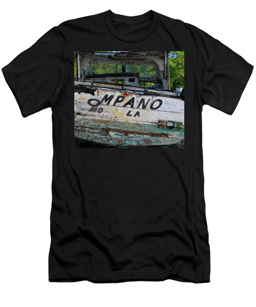 Men's T-Shirt (Athletic Fit) featuring the photograph Nautical Miles by Lori Mellen-Pagliaro