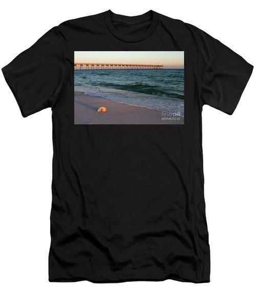 Nautilus And Pier Men's T-Shirt (Athletic Fit)