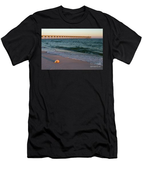 Nautilus And Pier Men's T-Shirt (Athletic Fit)