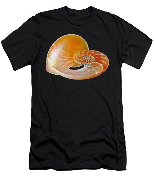Nautilus Golden Glow Men's T-Shirt (Athletic Fit)