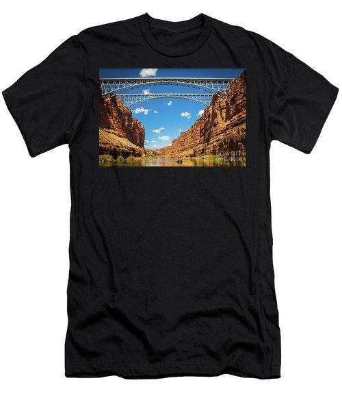 Navajo Bridge Men's T-Shirt (Athletic Fit)