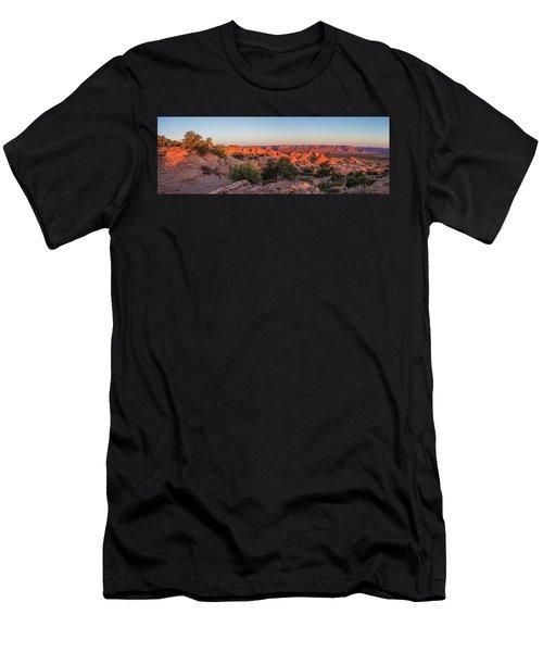 Navajo Land Morning Splendor Men's T-Shirt (Athletic Fit)