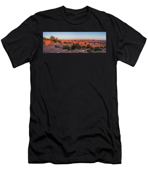 Navajo Land Morning Splendor Men's T-Shirt (Athletic Fit)