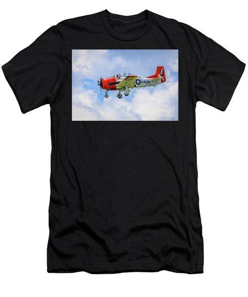 Navy Trainer #2 Men's T-Shirt (Athletic Fit)