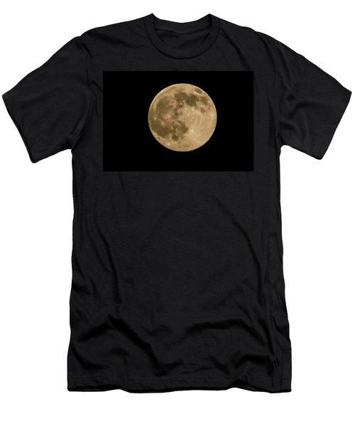 Near Full Moon, Strawberry Moon Men's T-Shirt (Athletic Fit)