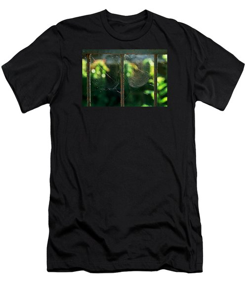 Men's T-Shirt (Slim Fit) featuring the photograph near Giverny by Dubi Roman
