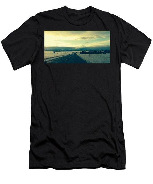 Near Hartsel Men's T-Shirt (Athletic Fit)