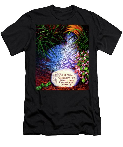 Garden Wisdom, Nearer Men's T-Shirt (Athletic Fit)