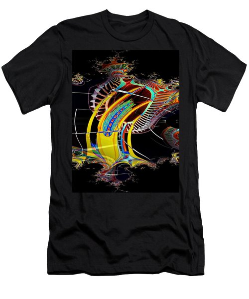 Needle In Fractal 4 Men's T-Shirt (Athletic Fit)