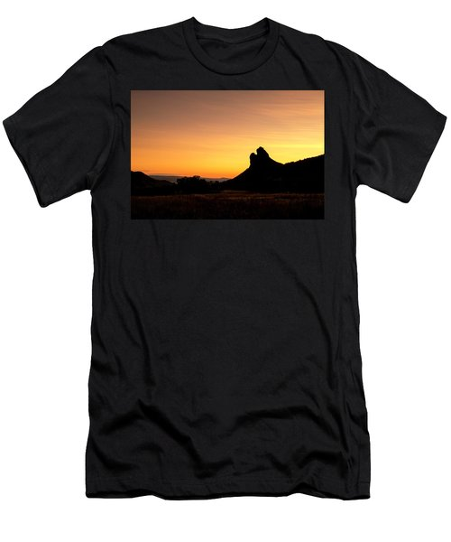 Men's T-Shirt (Athletic Fit) featuring the photograph Needle Rock by Angela Moyer