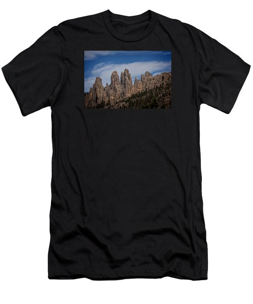 Needles, North Dakota Men's T-Shirt (Athletic Fit)