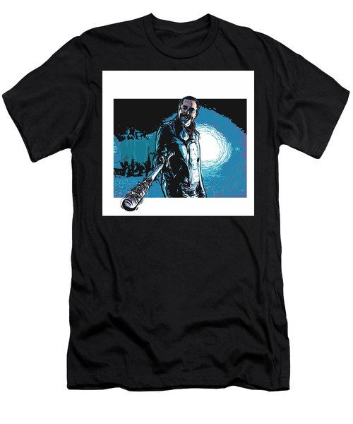 Men's T-Shirt (Athletic Fit) featuring the digital art Negan by Antonio Romero