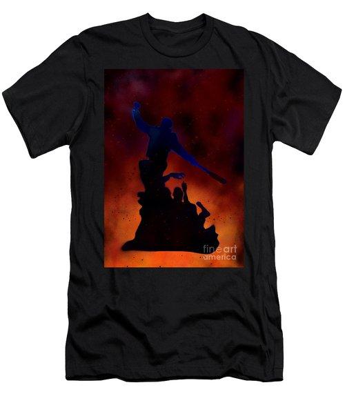 Negan Inferno Men's T-Shirt (Athletic Fit)