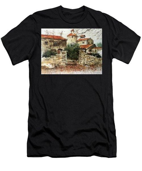 Neighbors Gate Men's T-Shirt (Athletic Fit)