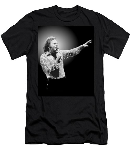Neil Diamond Reaching Out Men's T-Shirt (Athletic Fit)