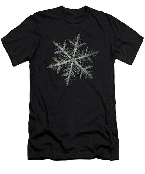 Neon, Black Version Men's T-Shirt (Slim Fit) by Alexey Kljatov