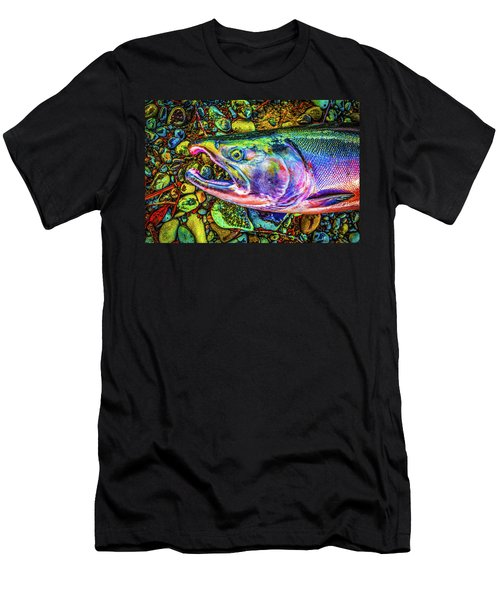 Neon Coho  Men's T-Shirt (Athletic Fit)