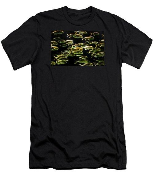 Neon Fish Men's T-Shirt (Athletic Fit)