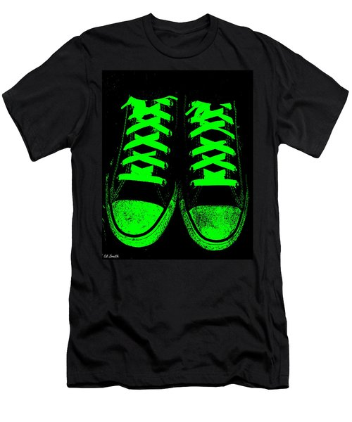 Neon Nights Men's T-Shirt (Athletic Fit)