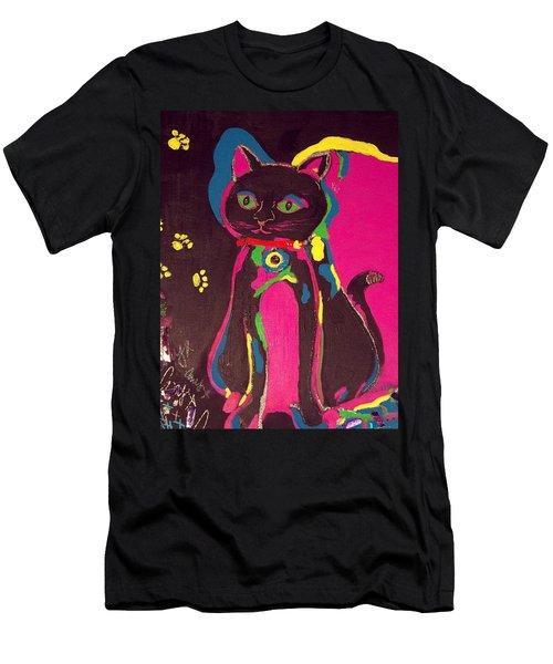 Neon Onyx Men's T-Shirt (Athletic Fit)