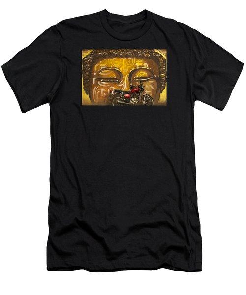 Nepal Buddha Men's T-Shirt (Athletic Fit)