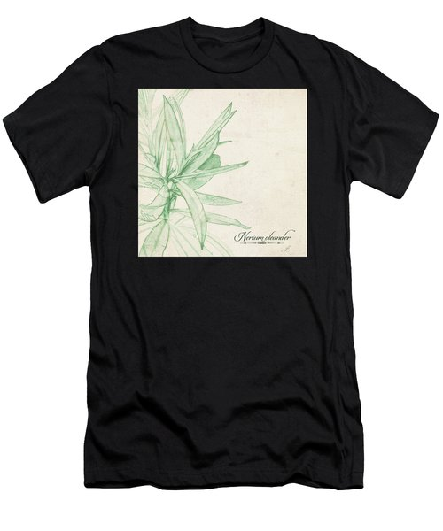 Nerium Oleander Men's T-Shirt (Athletic Fit)
