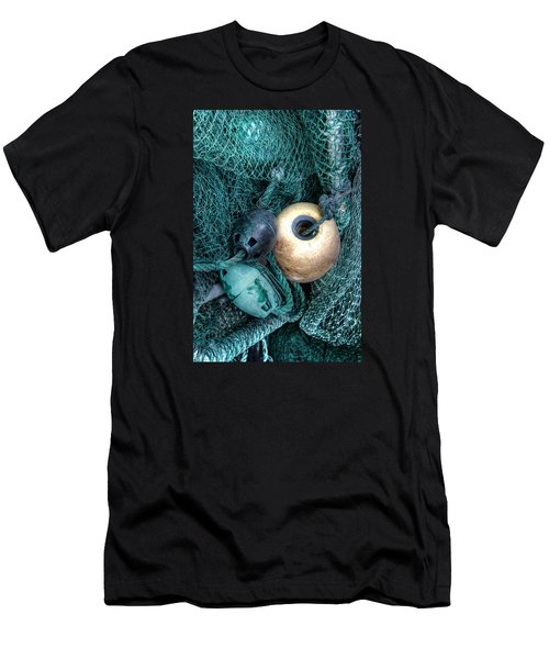 Nets And Buoys Men's T-Shirt (Athletic Fit)