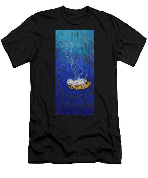 Nettle Jellyfish Men's T-Shirt (Athletic Fit)