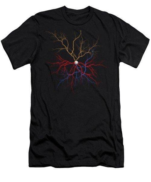 Neuron X1x Example Men's T-Shirt (Athletic Fit)