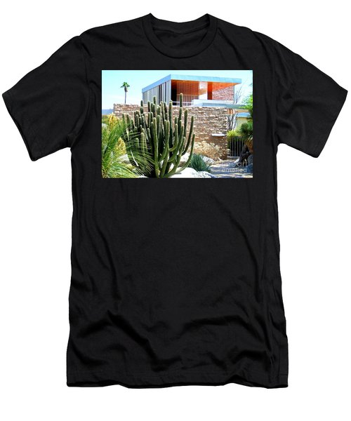 Neutra's Kaufman House 2 Men's T-Shirt (Slim Fit) by Randall Weidner