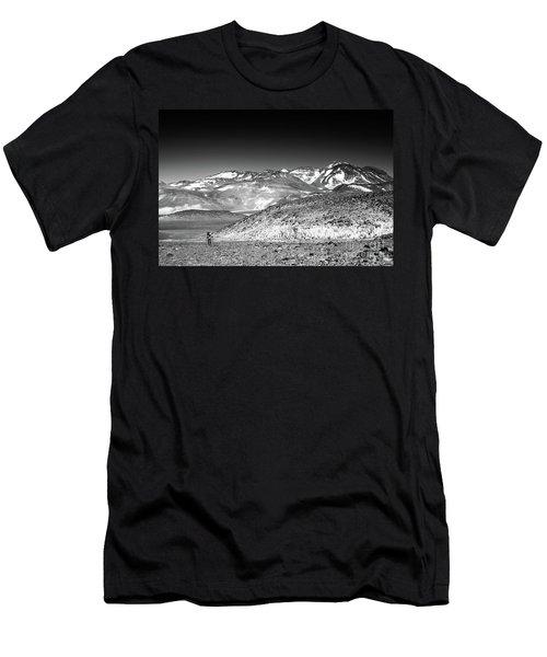 Nevado Ojos Del Salado Men's T-Shirt (Athletic Fit)