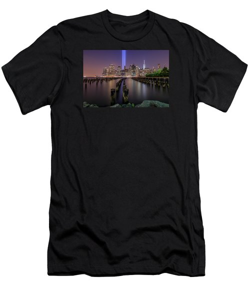Men's T-Shirt (Slim Fit) featuring the photograph Never 4 Get  by Anthony Fields