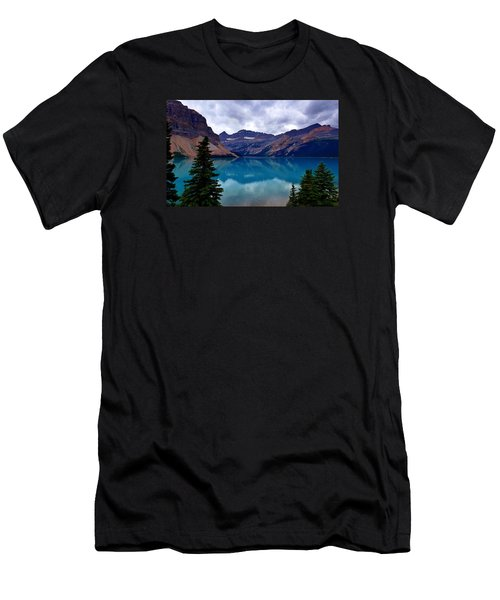 Bow Lake, Banff, Ab  Men's T-Shirt (Athletic Fit)
