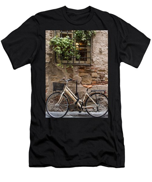 New Bike In Old Lucca Men's T-Shirt (Athletic Fit)